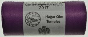 2 Euro Malta 2017 Originalrolle