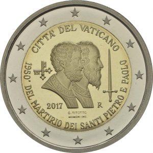 2 Euro Vatikan 2017 PP