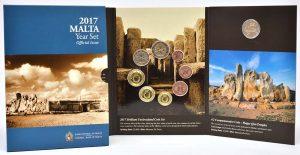 Kursmünzensatz Malta 2017