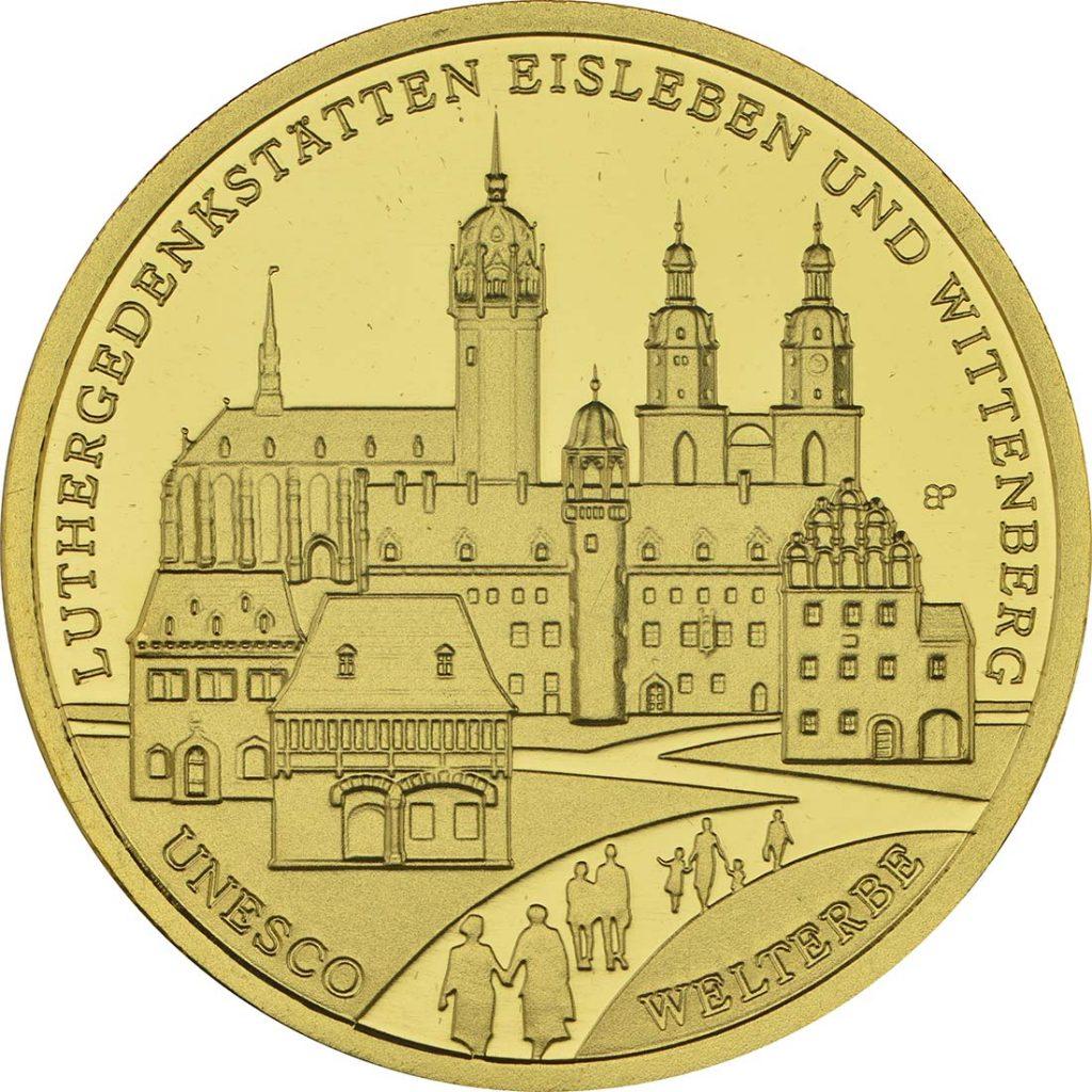 100 Euro Eisleben 2017 Luthergedenkstätten
