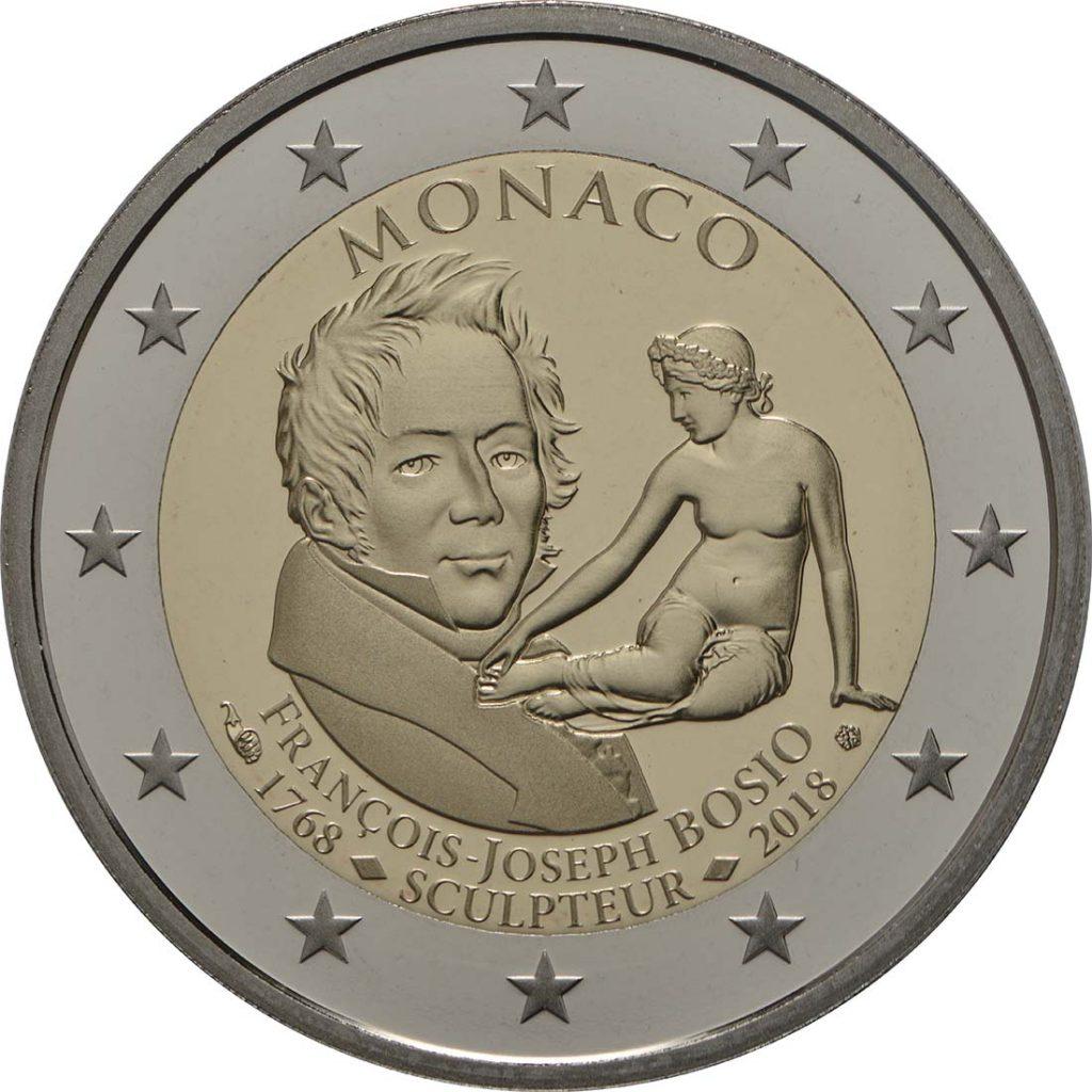 2 Euro Monaco 2018 PP François-Joseph Bosio